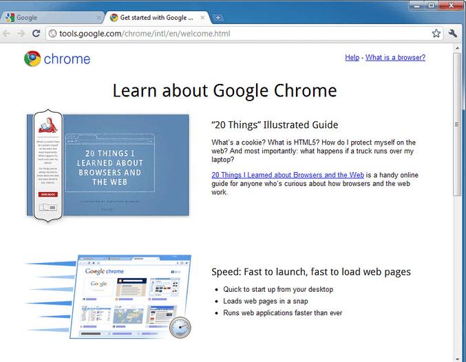 شرح برنامج جوجل كروم
