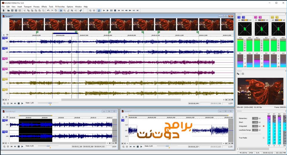 برنامج MAGIX SOUND FORGE Pro 12