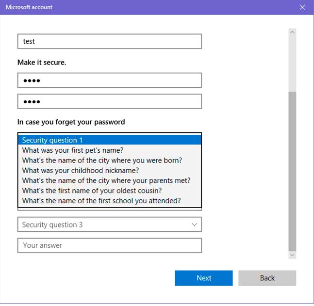 سهولة استرداد حسابات المستخدمين عند نسيان كلمة المرور