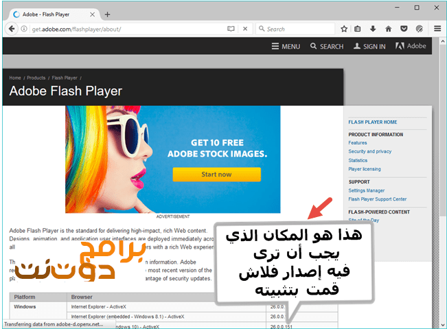 How to unblock Flash content in Mozilla Firefox