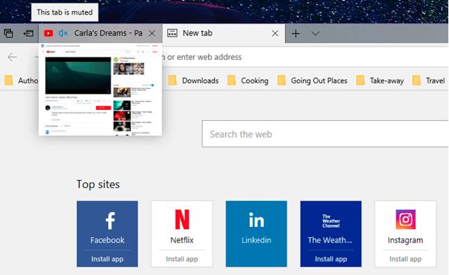 Microsoft Edge متصفح ويب أفضل