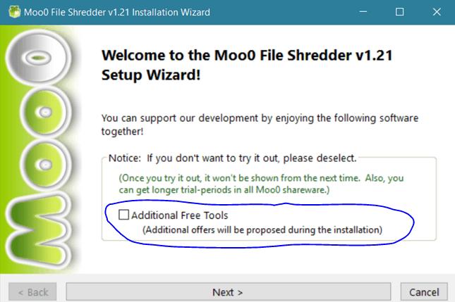 Moo0 File Shredder
