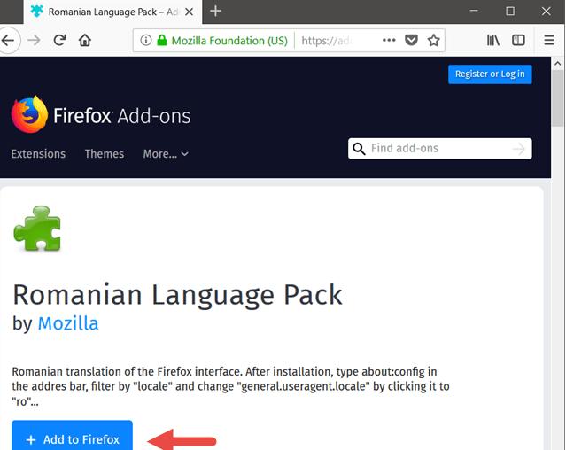 language pack