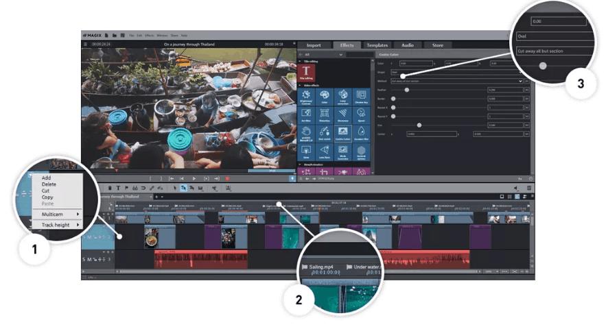 برنامج MAGIX Movie Edit Pro 2019