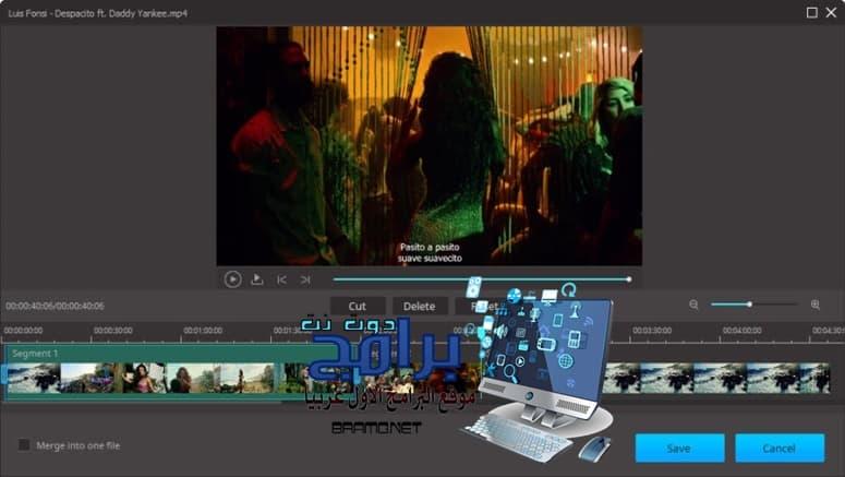 برنامج تحويل صيغ الفيديو Aimersoft Video Converter للكمبيوتر