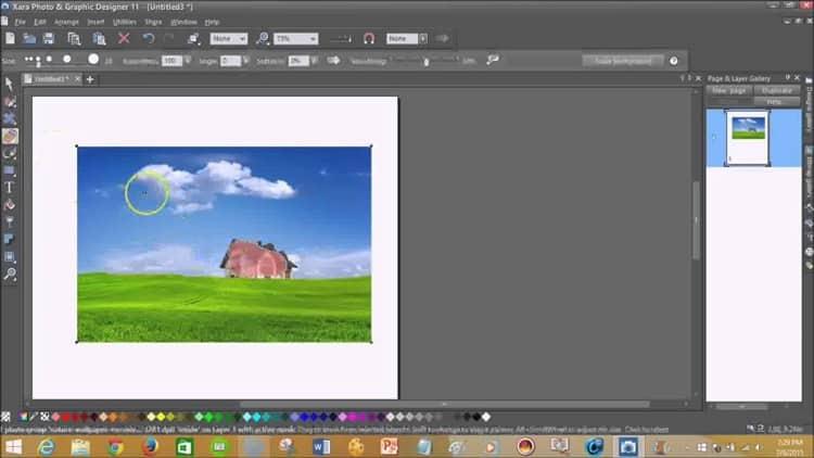 برنامجاكسارا فوتو & جرافيك ديزينر