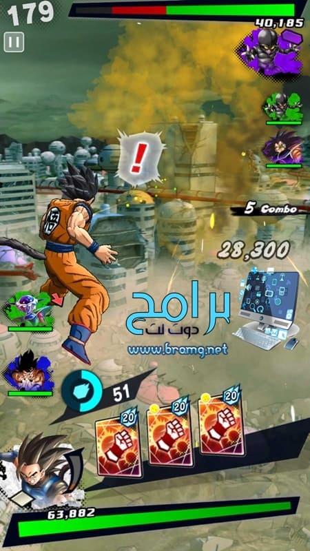 تثبيتلعبة Dragon Ball Legends للكمبيوتر والموبايل