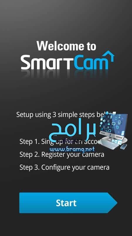 مميزاتبرنامج Samsung SmartCam