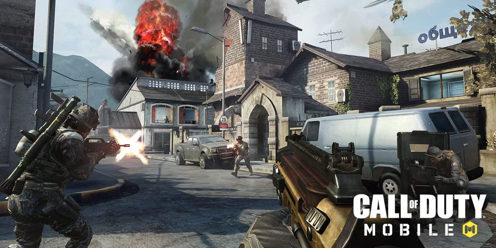 لعبة Call Of Duty Mobile احدث العاب الاكشن 2020 تحميل برابط مباشر