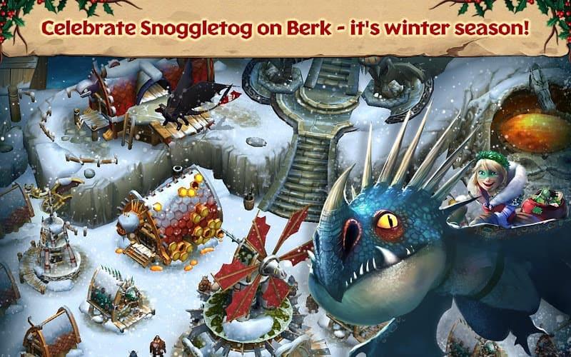 لعبة dragons rise of berk