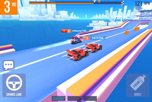 لعبة SUP Multiplayer Racing