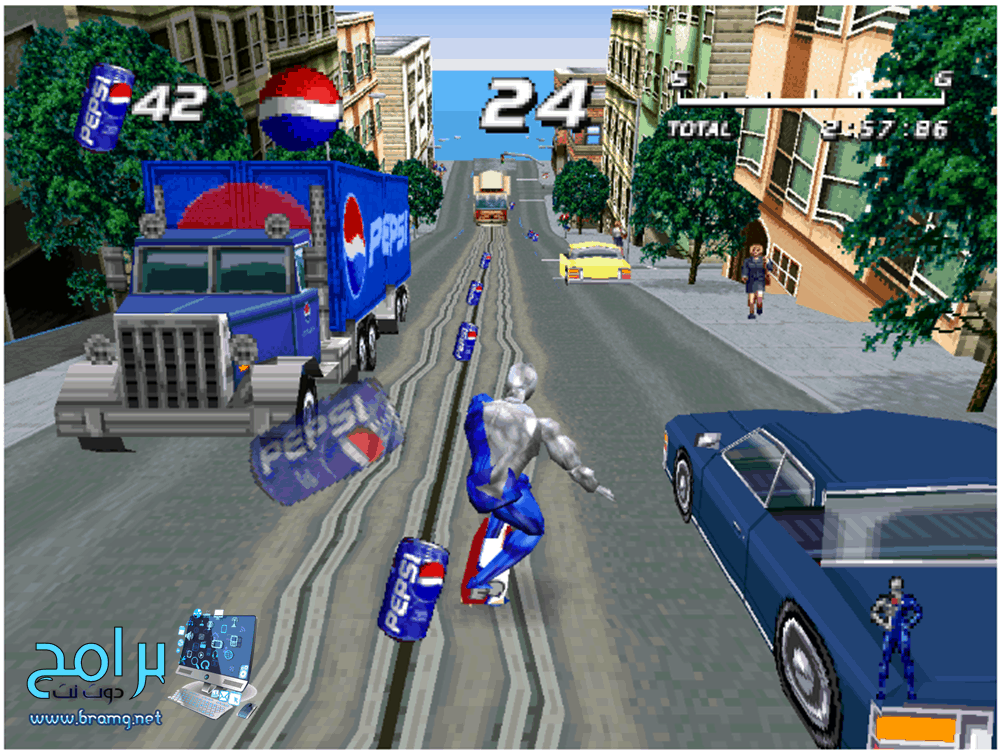 لعبة Pepsi Man