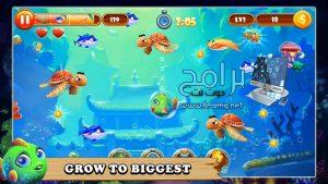 تحميل لعبة السمكة الشقية القديمة Feeding Frenzy : Fish apk مجانا 2022 2