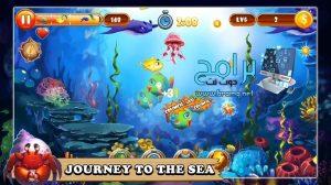 تحميل لعبة السمكة الشقية القديمة Feeding Frenzy : Fish apk مجانا 2022 3