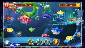 تحميل لعبة السمكة الشقية القديمة Feeding Frenzy : Fish apk مجانا 2022 4